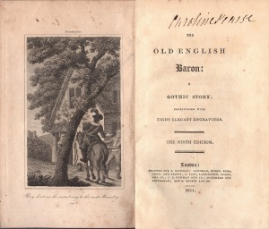 Old English Baron frontis title